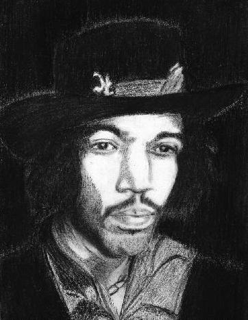 Jimi Hendrix par helenvjamesart
